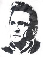 Johnny Cash by severedflesh