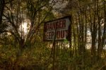 Quarry Sign - Wildlife Reserve by frasermunro