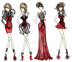 Chandelier's Go Fashion by AlirizaDesign