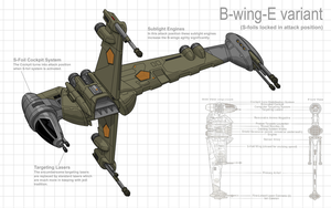B-wing Redesign by Stephen-Daymond