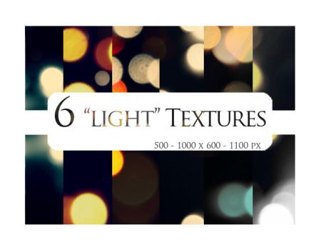 6 textures: light I by sabinefischer