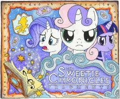 Sweetie Chronicles fan art -- watercolours by do-you-sell-crisps