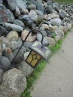Lantern and Rocks by WildfireFeeltheBurn