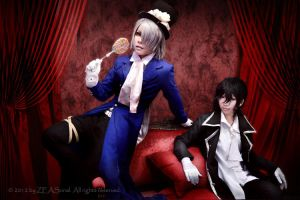 Cos : Pandora Hearts -XG- by Zeasonal