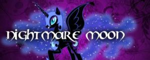 Nightmare Moon Banner by Shira-Noyoma