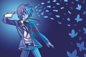 Print - Persona 3 by SonicRocksMySocks