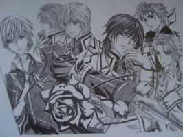 Vampire knight by freido123