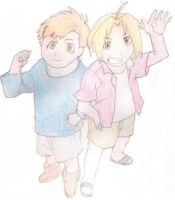 The Elric Bros. by zb5766