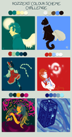 Colour Challenge! by Strawberry-Itchiko