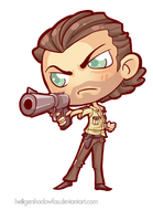 COmmission: The Walking Chibi Dead #Rick Grimes by Blatterbury