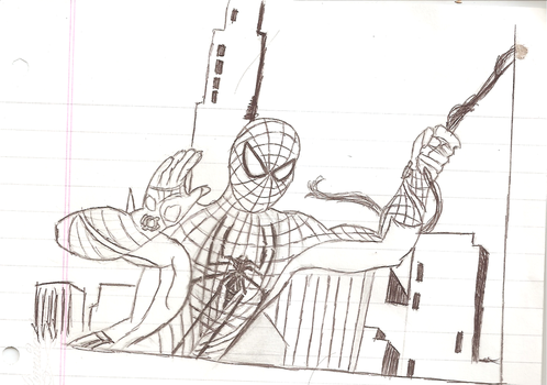 Spiderman: Past on the present (unpainted) by josi1999