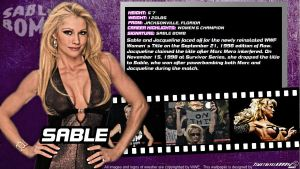 WWE Sable ID Wallpaper Widescreen by Timetravel6000v2