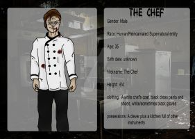Character profile for The Chef by CreepY-RaveN