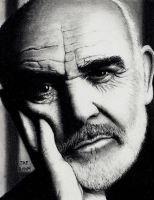 Sean Connery by Rick-Kills-Pencils