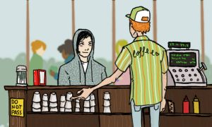 Frank and coffee by Paups