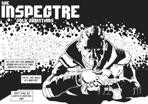 2000AD Advent: The Inspectre by JimCampbell
