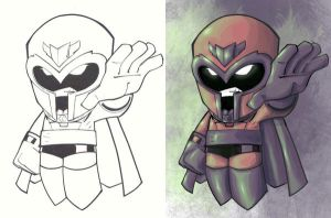 Lil Magneto w lines by dnmn89