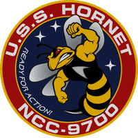 USS Hornet NCC-9700 Updated Ship's Insignia by viperaviator