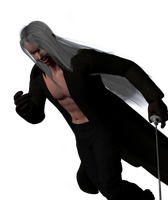 Sephiroth - Fight5 by guineapiggin