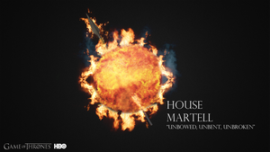 House Martell - Wallpaper 1080p by BananaStem