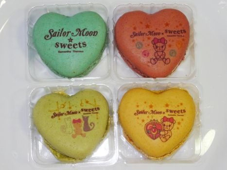 Sailor Moon x Isetan collab cookies by MoonCollectar