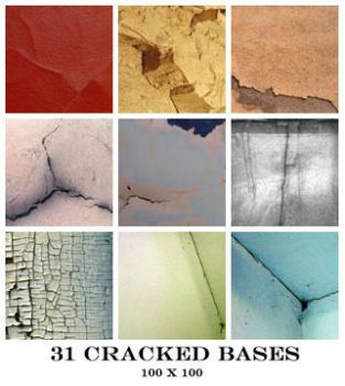 Cracked Icon Bases - 100x100 by Ch4ron