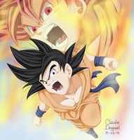 Goku :B by claudiadragneel