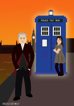 Featuring Peter Capaldi as the Doctor! by DinosaurCat