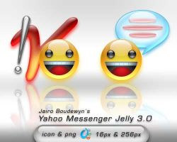 Yahoo Messenger Jelly 3 by weboso