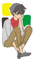 Hipster Manjoume by bunnyblanket