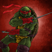 TMNT: Raphael by DoneCreative