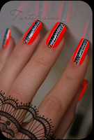haute couture nail art by Tartofraises