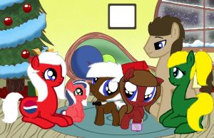 The Whooves's First Cristmas by DocterWhoovesFan