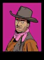 John Wayne by MrStitch