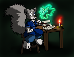 Squirrel Mage by Virmir