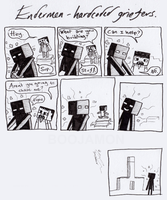Endermen - Hardcoded griefers by Boojamon