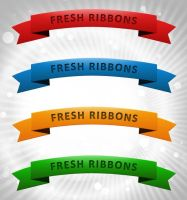 Web Ribbon Pack by FreePSDDownload