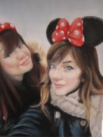 My cousin and her best friend by Aspi-Galou