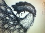 The Peacock - Sketch by DeathicusTheDamned