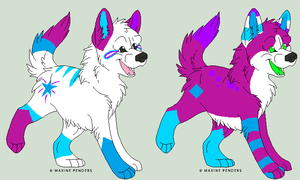 Breeders 1 Pups 3 by TheFoxFeatherz