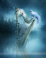 The Harp by EnchantedWhispersArt