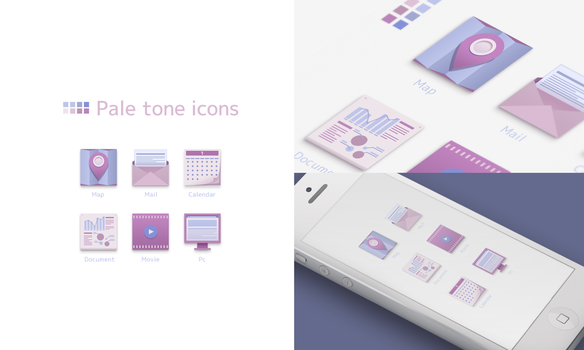 Pale Tone Icons by AKN28