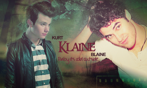 Klaine:Baby, It's Cold Outside by lolaangieblack