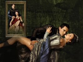 Henry VIII and Anne Boleyn by Chrissssss