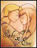 There for you Sabo x Eve by Leiriopee