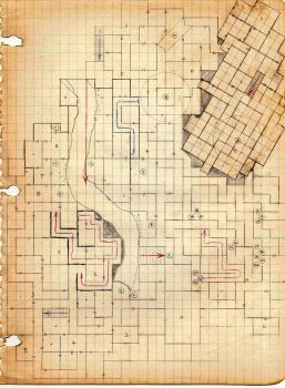 Megadungeon Level 4 the Maze by imredave