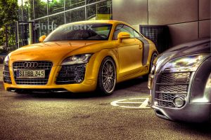 audi HDR by T-J-oma
