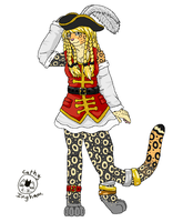 Request-Pirate Kitty by Catbirdwoman