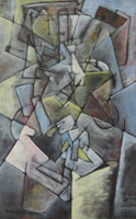 Composition Three by Maurice-Le-Coq