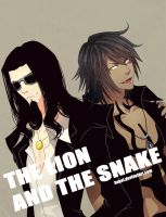 The Lion and The Snake by hakei